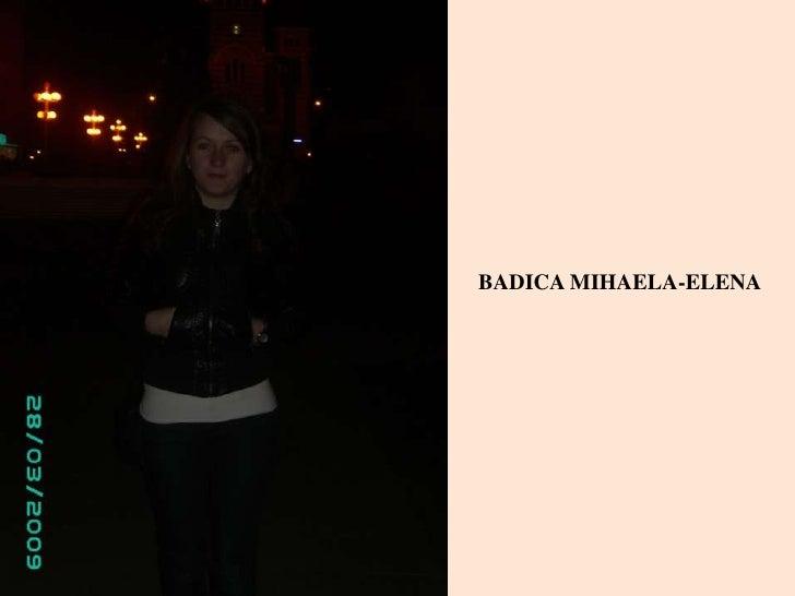 BADICA MIHAELA-ELENA