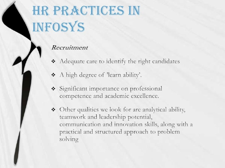 hr problems of infosys Hrm in infosys - free download as powerpoint presentation (ppt) along with a practical and structured approach to problem solving infosys hr practices project on wipro hrpolicy ppt hr practices of wipro hrd at infosys.