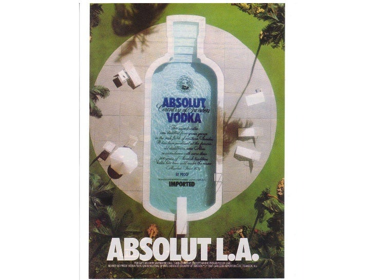 case study of absoulte vodka Case study absolut vodka: absolutely successful q1 what is the foundation of absolut vodka's success is it the vodka, the bottle, the distribution or the promotion.