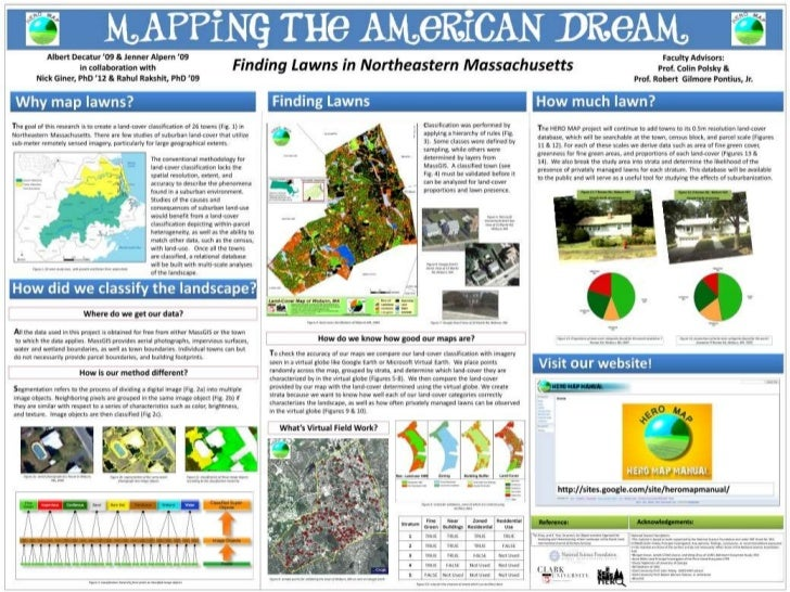 Mapping lawns in MA