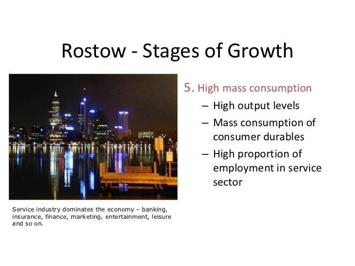 rostow stages of growth pdf