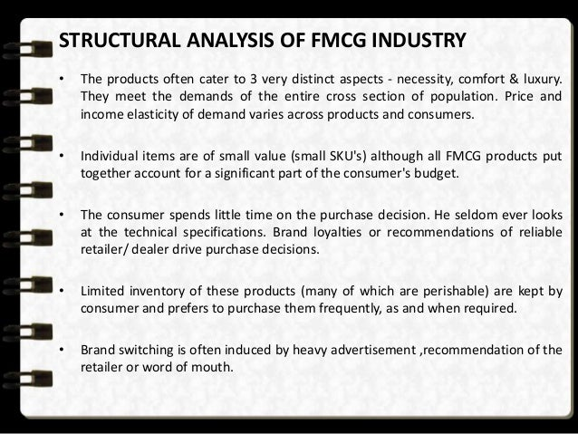 fundamental analysis of fmcg sector The fmcg sector in india is at present, the fourth largest sector with a total  market size in  keywords: current assets, financial ratios, fmcg sector,  liquidity analysis, working capital  rks rao, fundamentals of financial  management.