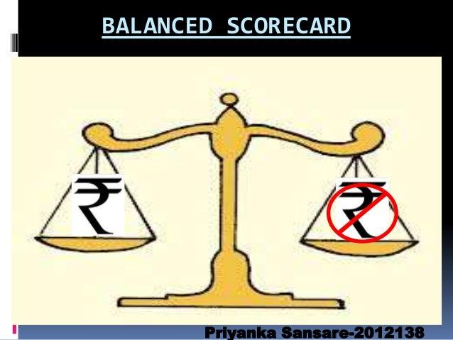 BALANCED SCORECARD  Priyanka Sansare-2012138