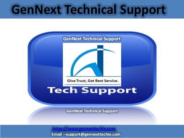 GenNext Technical Support GenNext Technical Support  GenNext Technical Support  https://www.gennexttechie.com Email –suppo...