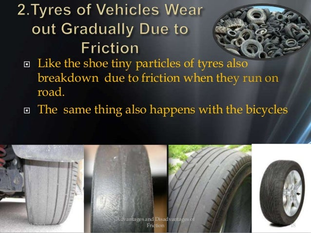  Like the shoe tiny particles of tyres also breakdown due to friction when they run on road.  The same thing also happen...