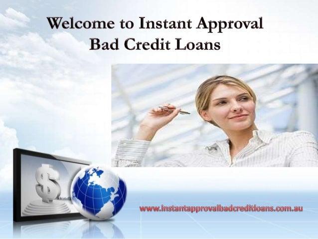 guaranteed approval loans bad credit