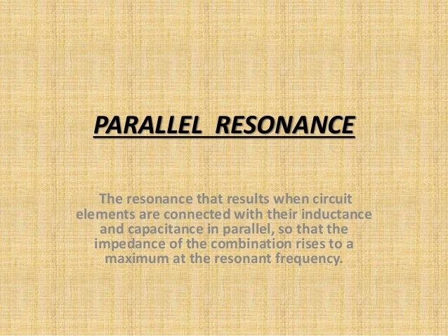 Simple Electricity Parallel Resistorinductor Circuits