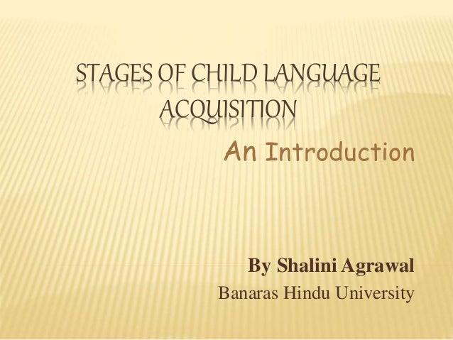 An Example A-Level English Language Essay: Child Language Acquisition - Writing