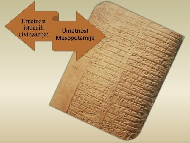 Umetnost  istočnih  civilizacija:  Umetnost  Mesopotamije