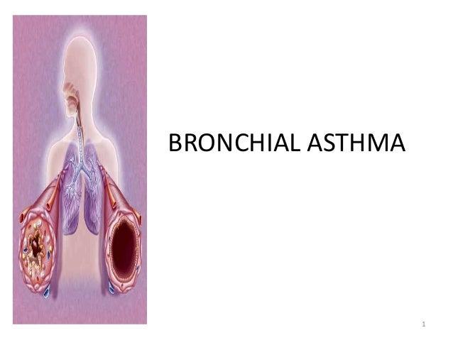 BRONCHIAL ASTHMA 1