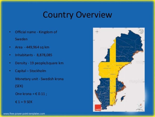 Pestle analysis of Sweden