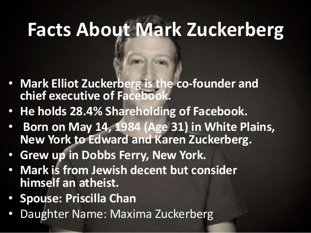Mark Zuckerberg and Facebook Leadership