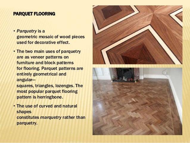 DIFFERENT TYPES OF FLOORING