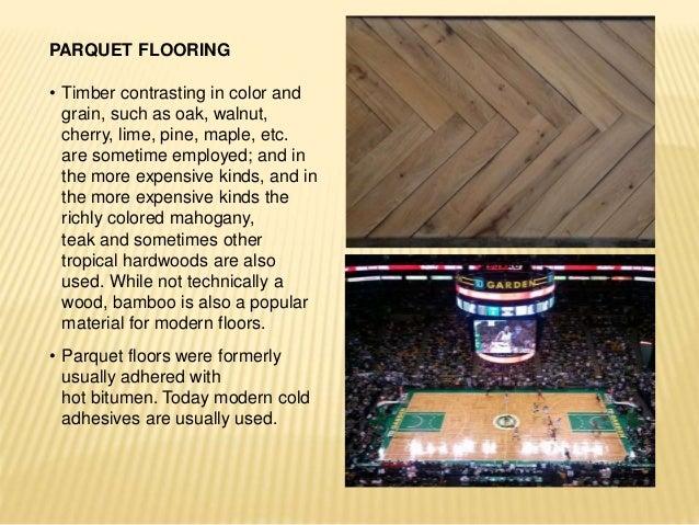 3 parquet flooring