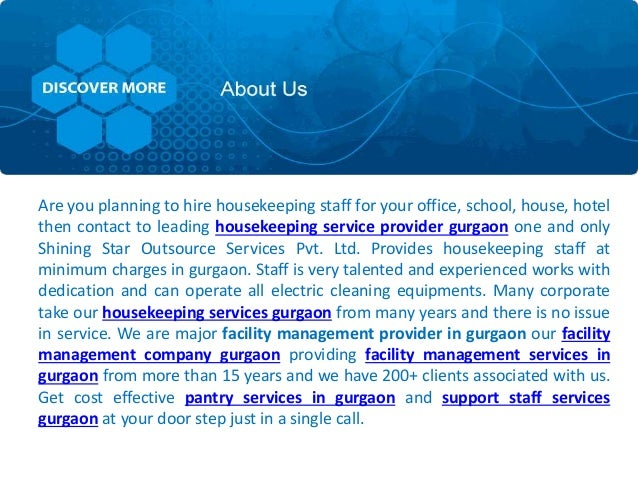 We provide following Services 1 Facility management Services 2 Housekeeping Services 3 Pest control Services 4 Pantry Serv...