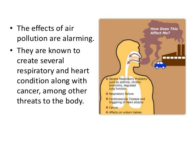 effects of air pollution on human health pdf