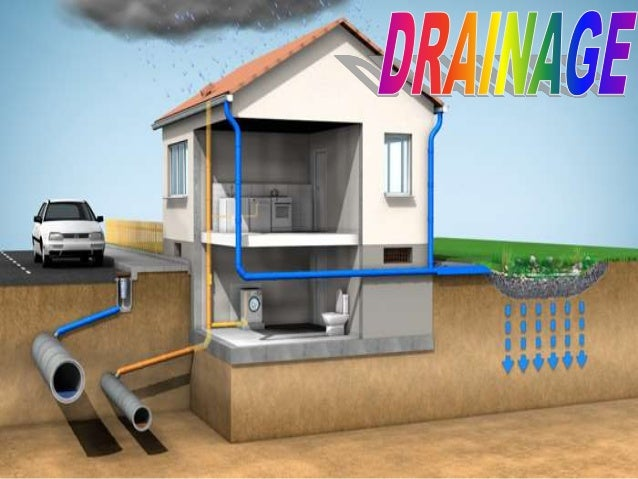 Drainage ppt for class 9th standard for House drainage system ppt