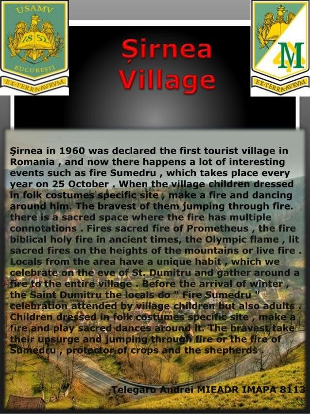 Șirnea Village
