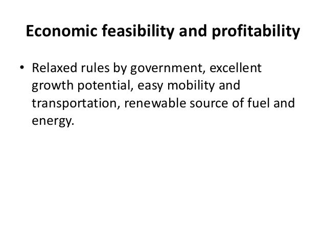 economic feasibility of alternative energy essay Agmrc renewable energy newsletter february 2009 nancy m hodur, research scientist nancyhodur@ndsuedu 701-231-7357 department of.