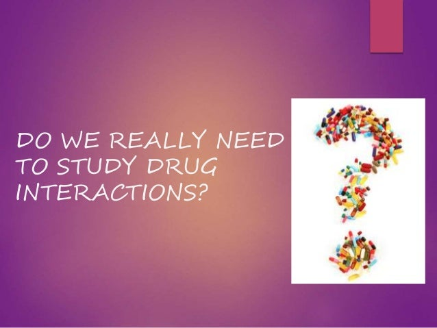 Drug Development and Drug Interactions