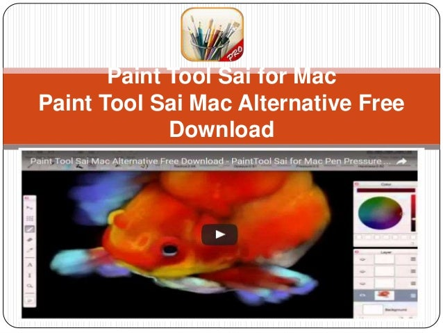 paint tool sai for mac free full