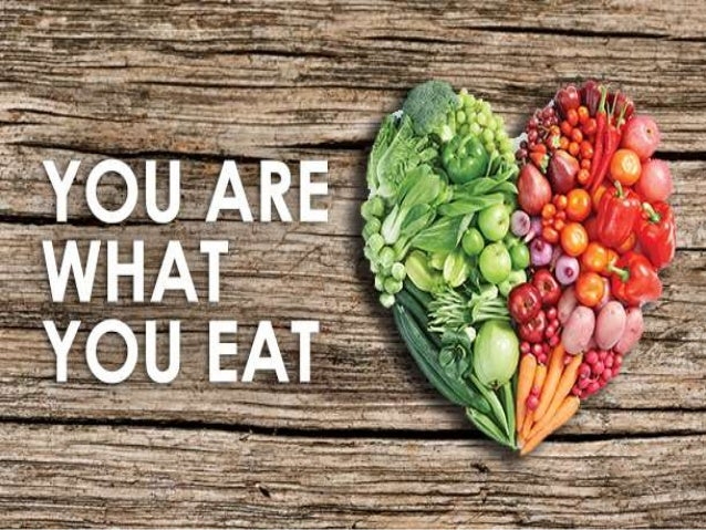 you are what you eat article