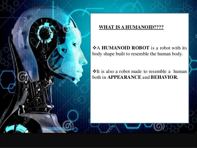 how to create andro humanoid robot