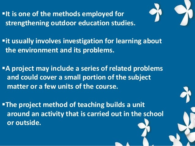 approaches of environmental education ppt