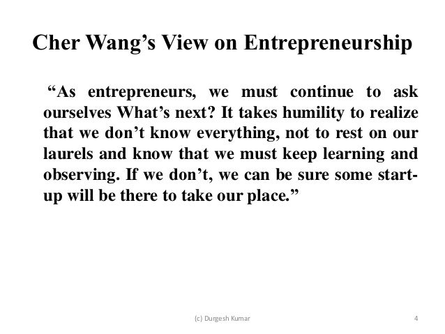 Case study on entrepreneurship ppt