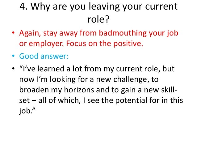 10 Good Reasons For Leaving A Job - TheInterviewGuys.com