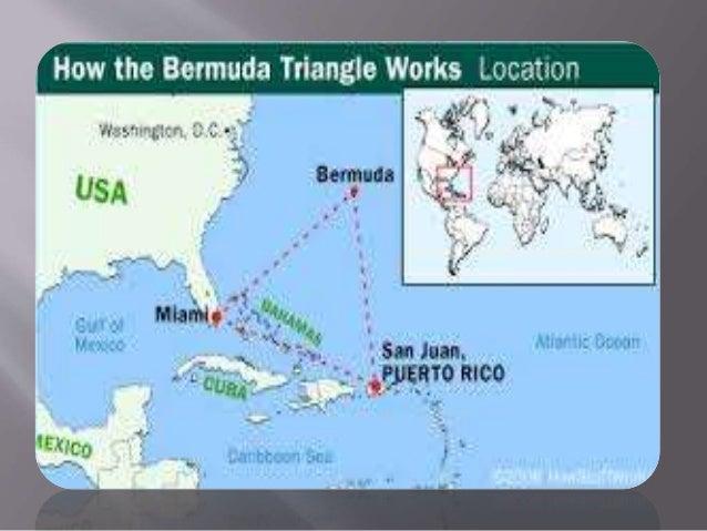 Bermuda Triangle - Bermuda map usa