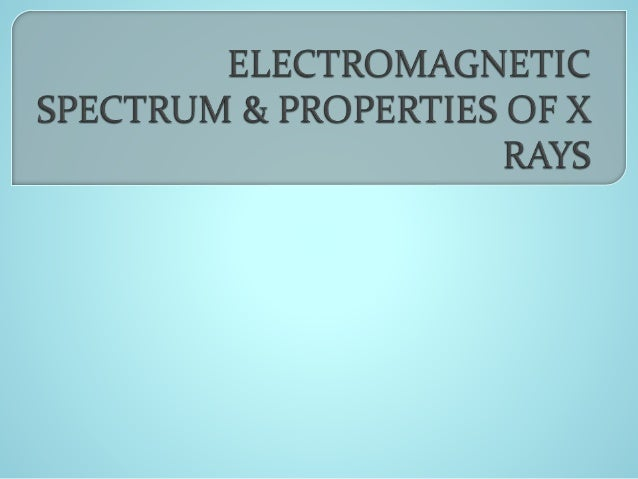 Basic definitions Electromagnetic spectrum Wave therapy Quantum Theory Types of radiation comprising ES Properties of ...