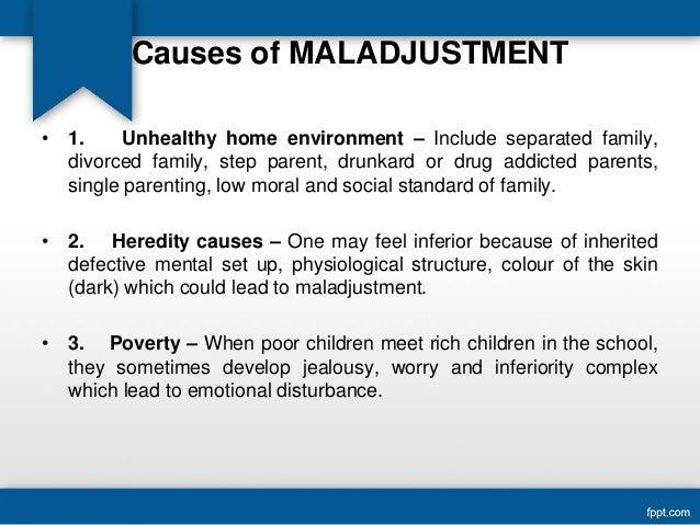 Sexual maladjustment definition