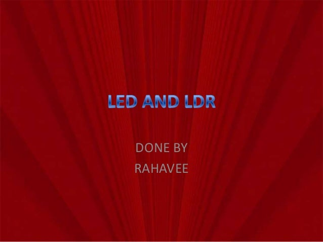 led and ldr