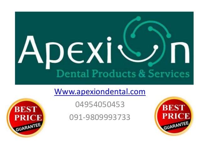 Www.apexiondental.com04954050453091-9809993733