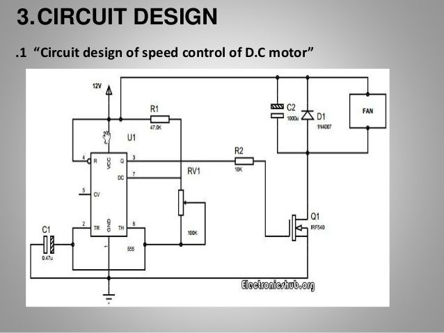 Dc motor speed control by pwm for Dc motor controller design