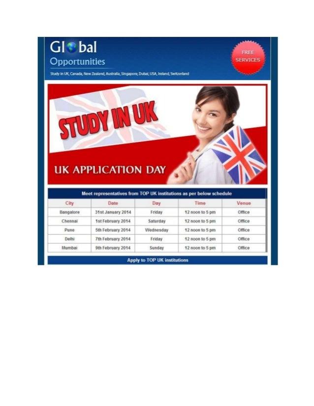 UK Application Day, PAN India Start 31th Jan to 9th Feb