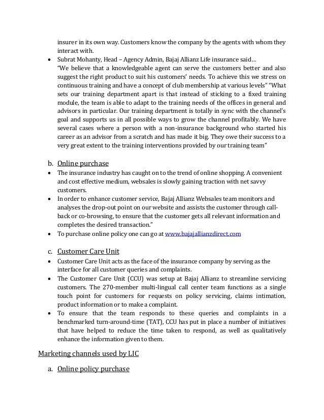 methods of personal selling used by bajaj allianz Analisis personal selling pada pt asuransi allianz life indonesia analysis of personal selling at allianz life  the method used in this research is.