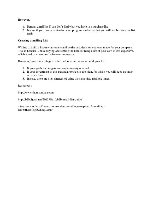 New microsoft oB2B Mailing Lists | Business Marketing list | Business…