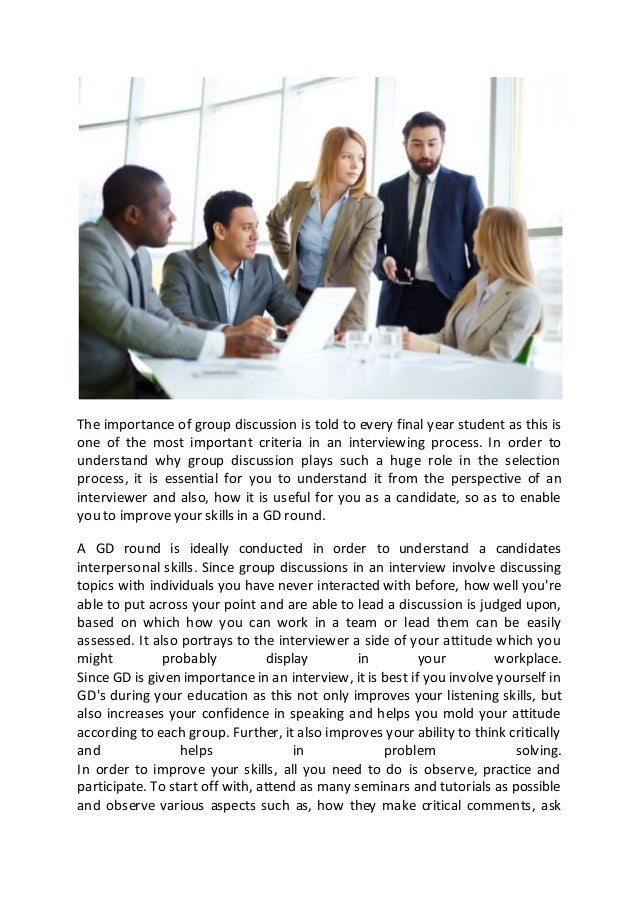 importance of group work Explain the importance of groups elaborate on the significance and the influence of the informal groups in an organization these groups work in a systematic.