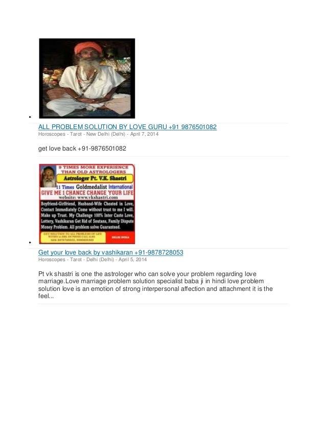 love vashikaran specialist baba ji +91-9571209461 Slide 2