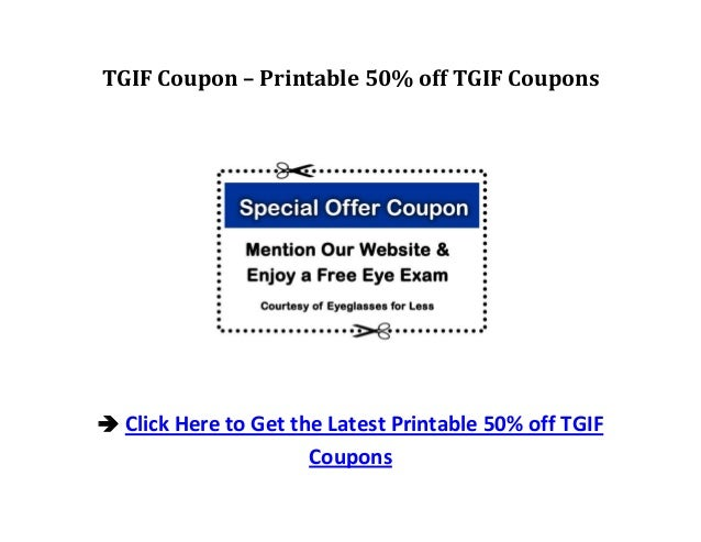picture about Tgi Fridays Printable Coupons named Tgif coupon : Nba com shop