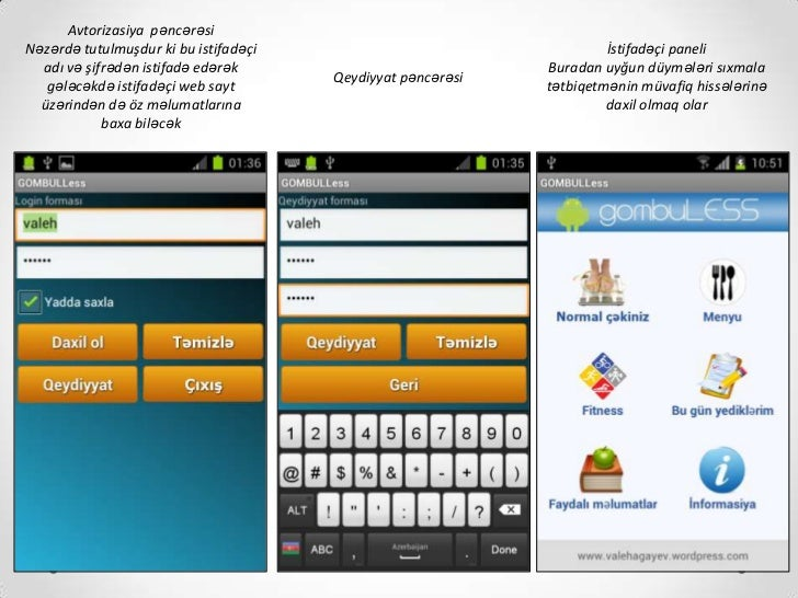 Gombuless Android App Slide 2