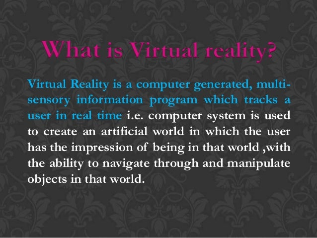 Virtual reality 2 history of vr freerunsca Choice Image