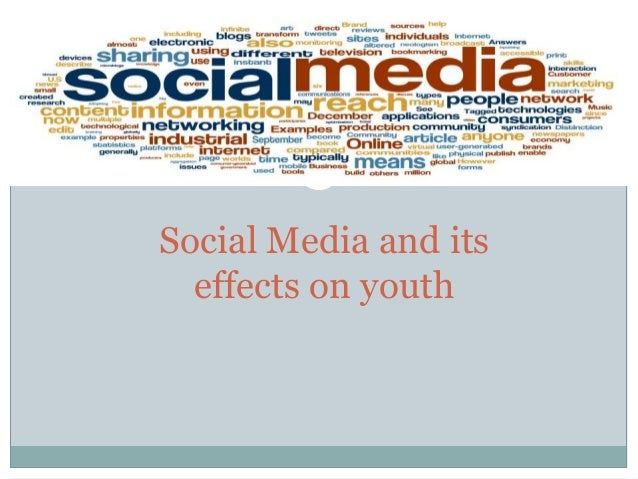 effect of electronic media on the youth The literature on the internet and youth culture their friends by electronic devices these youth create and use view of the effect.