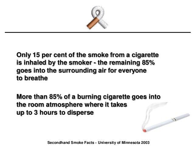 Secondhand Smoke The Silent Killer