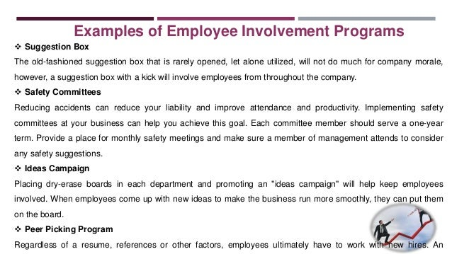 Employee Involvement And Participation