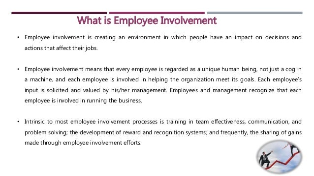 employee involvement and participation I was recently commenting on an article by richard branson on which he was discussing the importance of employee well being for company's success his.