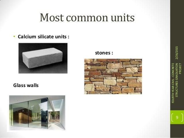 Calcium Silicate Brick : Masonry structures behavior and design
