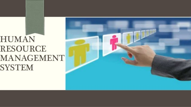 Human Resource Management System